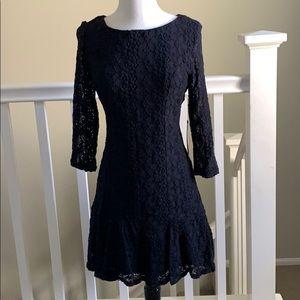 As U Wish Nordstrom lace dress-black -size Large